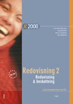R2000 Redovisning 2/Redovisning och beskattning Lärarhandledning med cd