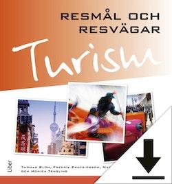 Turism - Resmål och resvägar Lärarhandledning (nedladdningsbar) 12 mån