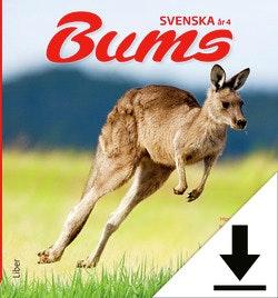 Bums Svenska åk 4 Lärarhandledning (nedladdningsbar) 12 mån