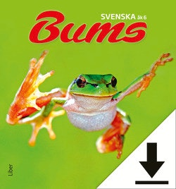 Bums Svenska åk 6 Lärarhandledning (nedladdningsbar) 12 mån