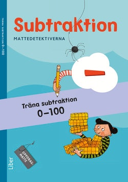 Mattedetektiverna Träna Subtraktion 0-100 10-pack