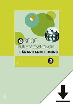 E3000 Företagsekonomi 2 Lärarhandledning
