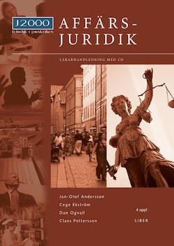 J2000 Affärsjuridik Lärarhandledning med cd