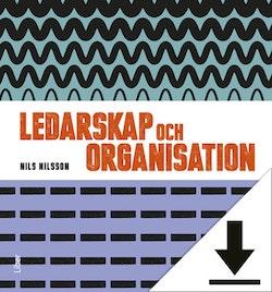 Ledarskap och organisation, Lärarhandledning (nedladdningsbar) 12 mån