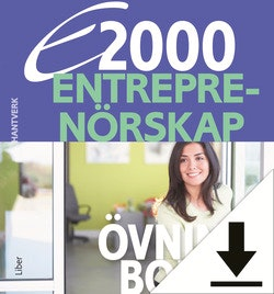 E2000 Entreprenörskap Lösningar Hantverk (nedladdningsbar) 12 mån