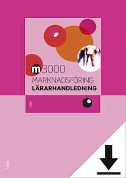 M3000 Marknadsföring Lärarhandledning (nedladdningsbar) 12 mån
