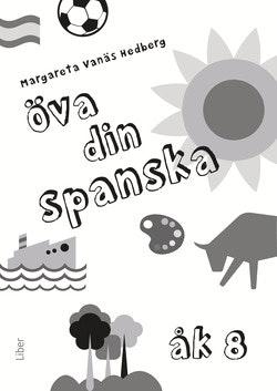 Öva din spanska åk 8, 5-pack - Träningsmaterial i spanska, 5-pack