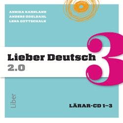 Lieber Deutsch 3 2.0 Lärar-cd