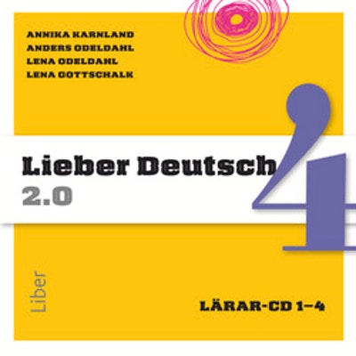 Lieber Deutsch 4 2.0 Lärar-cd 1-4
