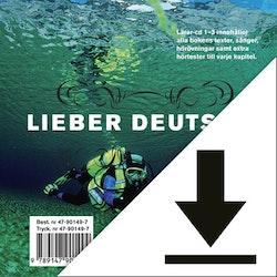 Lieber Deutsch 3 Lärarljud (nedladdningsbar) 12 mån