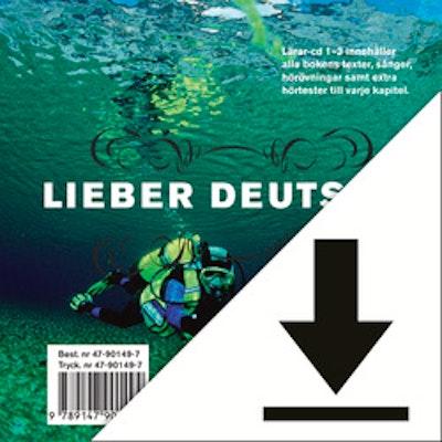 Lieber Deutsch 3 Elevljud (nedladdningsbar) 12 mån