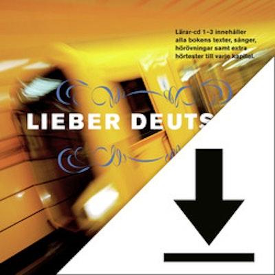 Lieber Deutsch 4 Elevljud (nedladdningsbar) 12 mån