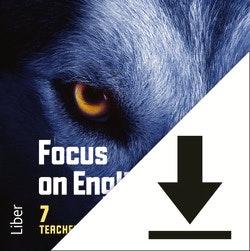 Focus on English 7 Elevljud (nedladdningsbar)