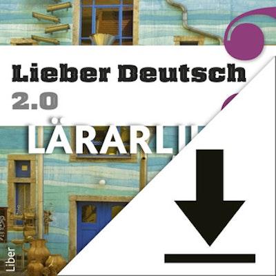 Lieber Deutsch 3 2.0 Lärarljud (nedladdningsbar) 12 mån