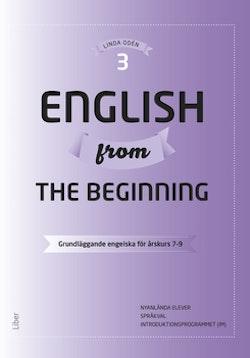 English from the Beginning 3 - Grundläggande engelska för årskurs 7-9