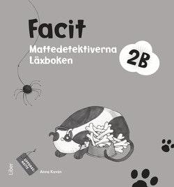Mattedetektiverna 2B Facit