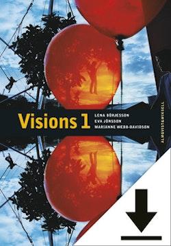 Visions 1 Lärarljud (nedladdningsbar) 12 mån