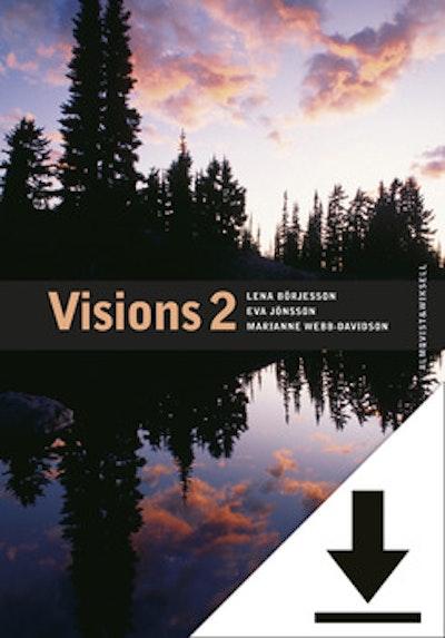 Visions 2 Lärarljud (nedladdningsbar) 12 mån