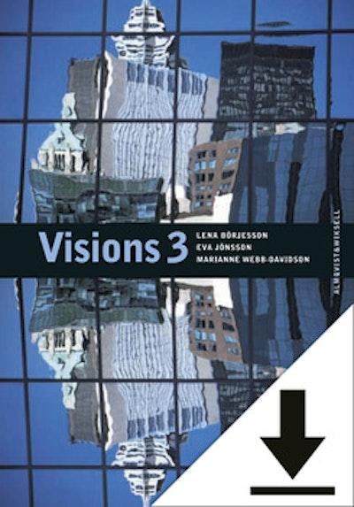 Visions 3 Lärarljud (nedladdningsbar) 12 mån