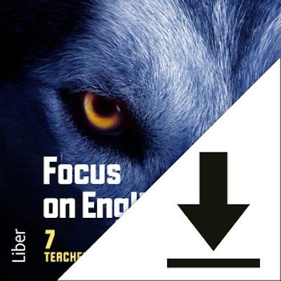 Focus on English 7 Lärarljud (nedladdningsbar) 12 mån