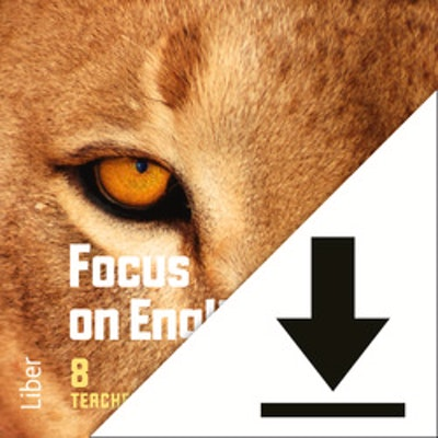 Focus on English 8 Lärarljud (nedladdningsbar) 12 mån