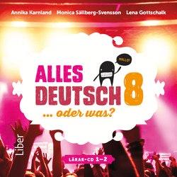 Alles Deutsch 8 Lärar-cd 1-2 - Tyska för högstadiet