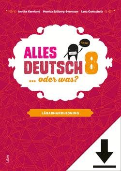 Alles Deutsch 8 Lärarhandledning (nedladdningsbar)