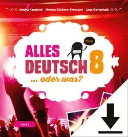 Alles Deutsch 8 Lärar-ljud (nedladdningsbar)