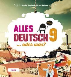 Alles Deutsch 9 Textbok - Tyska för högstadiet