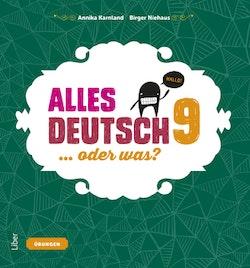 Alles Deutsch 9 Övningsbok - Tyska för högstadiet