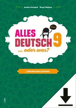 Alles Deutsch 9 Lärarhandledning (nedladdningsbar)