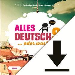 Alles Deutsch 9 Lärarljud (nedladdningsbar)