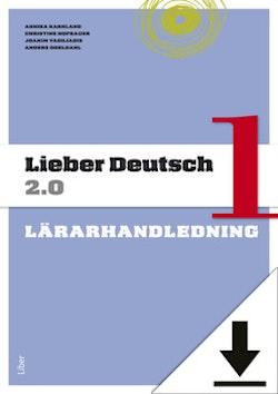 Lieber Deutsch 1 2.0 Lärarhandledning (nedladdningsbar) 12 mån