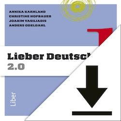 Lieber Deutsch 1 2.0 Lärarljud (nedladdningsbar) 12 mån