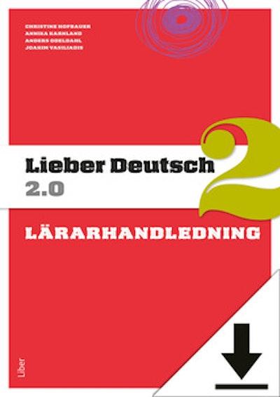 Lieber Deutsch 2 2.0 Lärarhandledning (nedladdningsbar) 12 mån