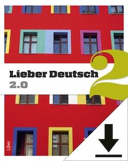 Lieber Deutsch 2 2.0 Lärarljud (nedladdningsbar) 12 mån