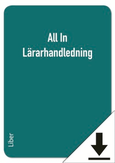 All In Lärarhandledning (nedladdningsbar)