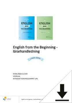 English from the Beginning Lärarhandledning (nedladdningsbar)
