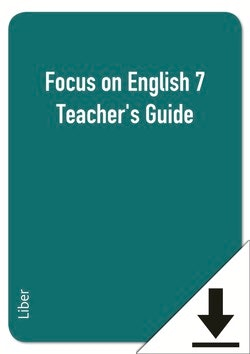 Focus on English 7 Teacher's Guide (nedladdningsbar)