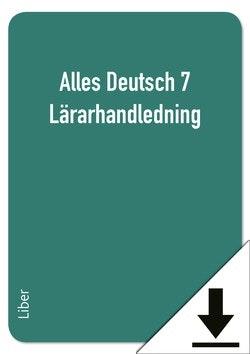 Alles Deutsch 7 Lärarhandledning (nedladdningsbar)