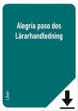 Alegría paso dos Lärarhandledning (nedladdningsbar)