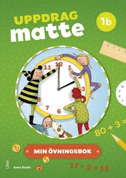 Uppdrag Matte 1B Övningsbok