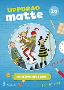 Uppdrag Matte 2A Övningsbok