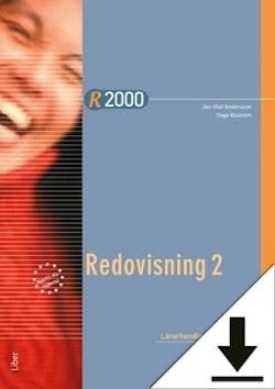 R2000 Redovisning 2 Lärarhandledning (nedladdningsbar)