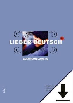 Lieber Deutsch 1 Lärarhandledning (nedladdningsbar) 12 mån