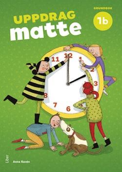 Uppdrag Matte 1B Grundbok