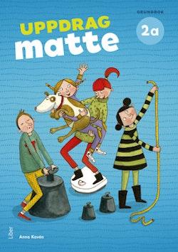 Uppdrag Matte 2A Grundbok