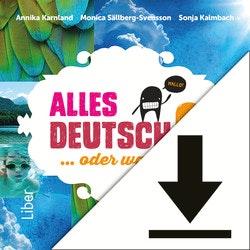 Alles Deutsch 6 Lärarljud (nedladdningsbar)