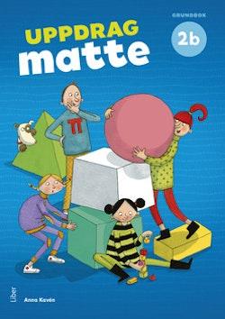 Uppdrag Matte 2B Grundbok