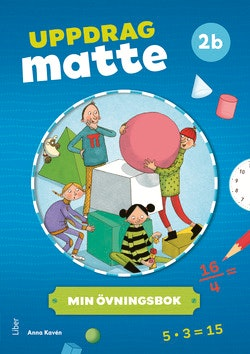 Uppdrag Matte 2B Övningsbok